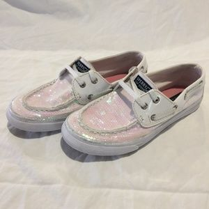 Sperry Top Sider Bahama Iridescent Boat Shoes